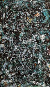 "Jackson Pollock, ""Full Fathom Five."" 1947"